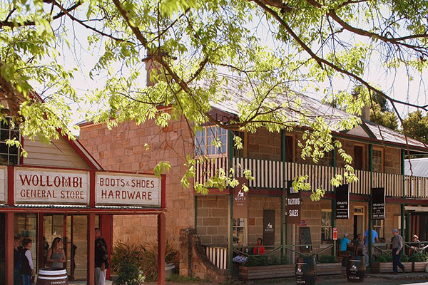 Visit historic Wollombi in Hunter Valley Wine Country