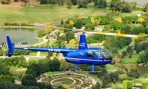 Hunter Valley Helicopter Tours from Gypsy Willows Wollombi
